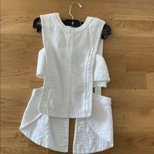 Cool white going out shirt